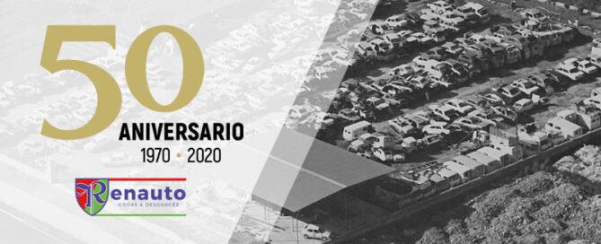 50 Aniversario de Renauto Grúas y Desguace