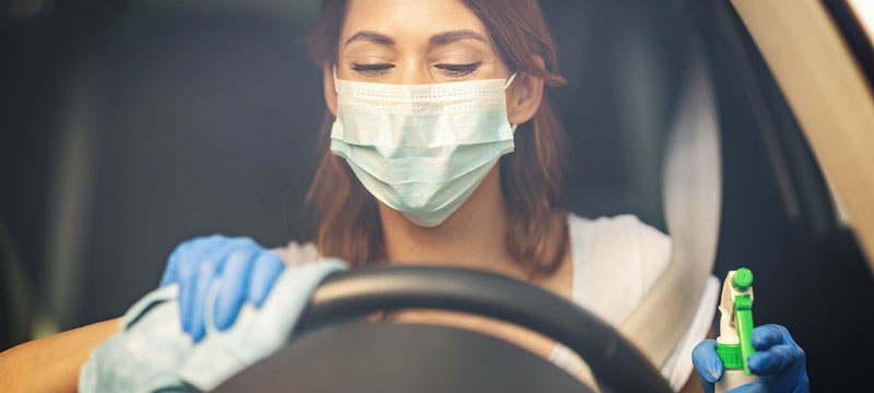 Desinfecta tu coche para prevenir el contagio del coronavirus